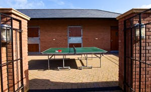 Wayside: There's outdoor table tennis too!