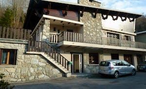 Front view of La Portet Chalet