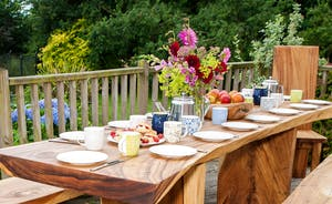 The Cottage Beyond: Afternoon tea in the garden? Well, why not?