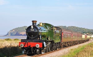 Take A Train To The Seaside on our very local West Somerset Steam Railway