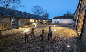 Beaverbrook 30 - The accommodation is centered around a graveled courtyard