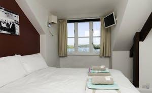 Bedroom 1 with Ensuite on third floor