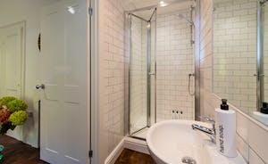 Hesdin Hall - The en suite shower room for Bedroom 2