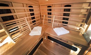 The Benches - The sauna is in the summer house - relax and unwind