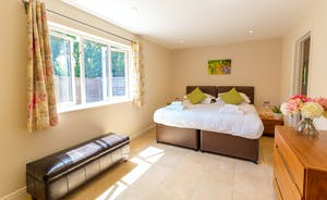 Cockercombe - Bedroom 2 is on the first floor and has an en suite shower room