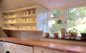 Hurstone : The  kitchen and utility areas are well equipped; ideal for large groups and busy mealtimes.