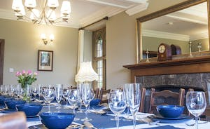 Bossington Hall - You can almost hear the chink-chink of glasses raised for a toast