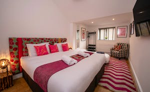 Pigertons - Bedroom 3 is one of the largest bedrooms, with room for an extra bed
