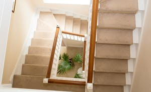 The Old Rectory - Look right down to the ground floor from the lovely staircase!
