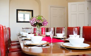 The Old Rectory - If you don't fancy doing the cooking we can recommend some wonderful caterers