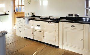 Bumblebee: A 4 oven Aga - electric for convenience