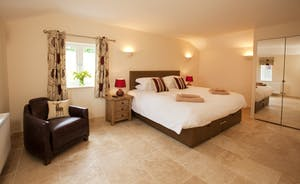 Holemoor Stables - Bedroom 9; stylish and modern with an en suite wet room