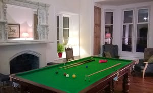 The Old Rectory - Enjoy a game of snooker in the Games Room