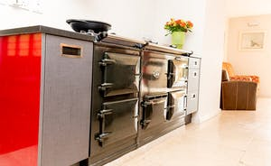 The Benches - The 4 oven AGA is great for cooking for lots of people