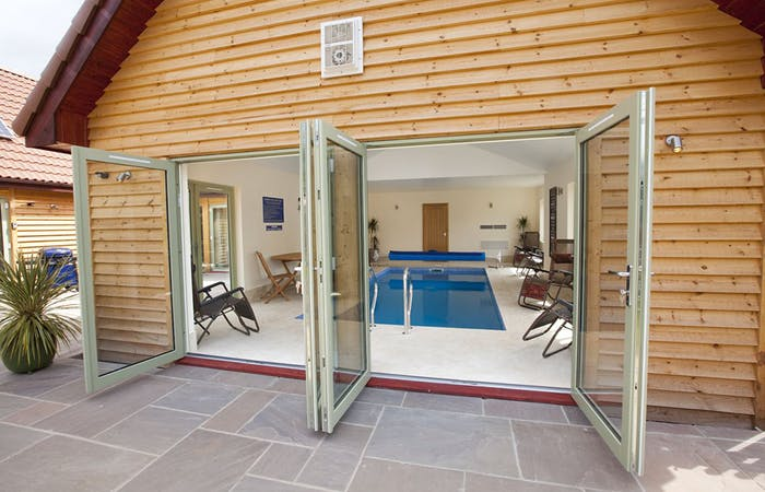 holiday home sleeps 26 in 11 en suite bedrooms with 2 indoor pools - perfect for family gatherings and celebrations