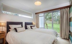 Bedroom 3 - Twin beds or zip linked superking bed