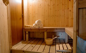 Culmbridge House - Out in the pool hall there's a sauna
