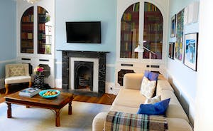 Berry House - The cosiness of the snug is perfect for watching a movie or curling up with a good book