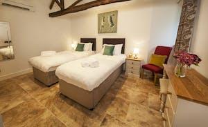 Beaverbrook 20 - Bedroom 5 is in the Tie Stalls and has an en suite shower room