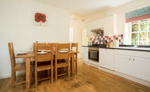 Kitchen / Dining Room at Railway Cottage