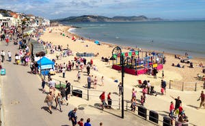 Beach At Lyme Regis is a wonderful day trip for the family