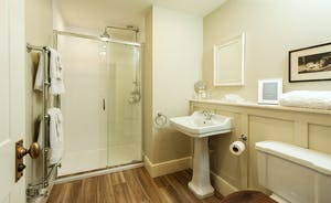 Pitsworthy: The en suite bathrooms have timeless appeal, with heritage fittings