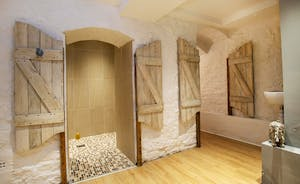 Sandfield House - The cellar has been converted into a sauna room with a shower and WC