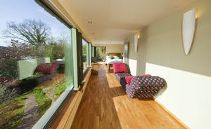 The Benches - A relaxing and perfectly placed viewing seat from the River View Annexe/ Bedroom 6