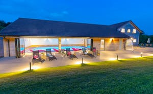 Fuzzy Orchard - A fabulous luxury lodge for large group holidays in the Somerset countryside
