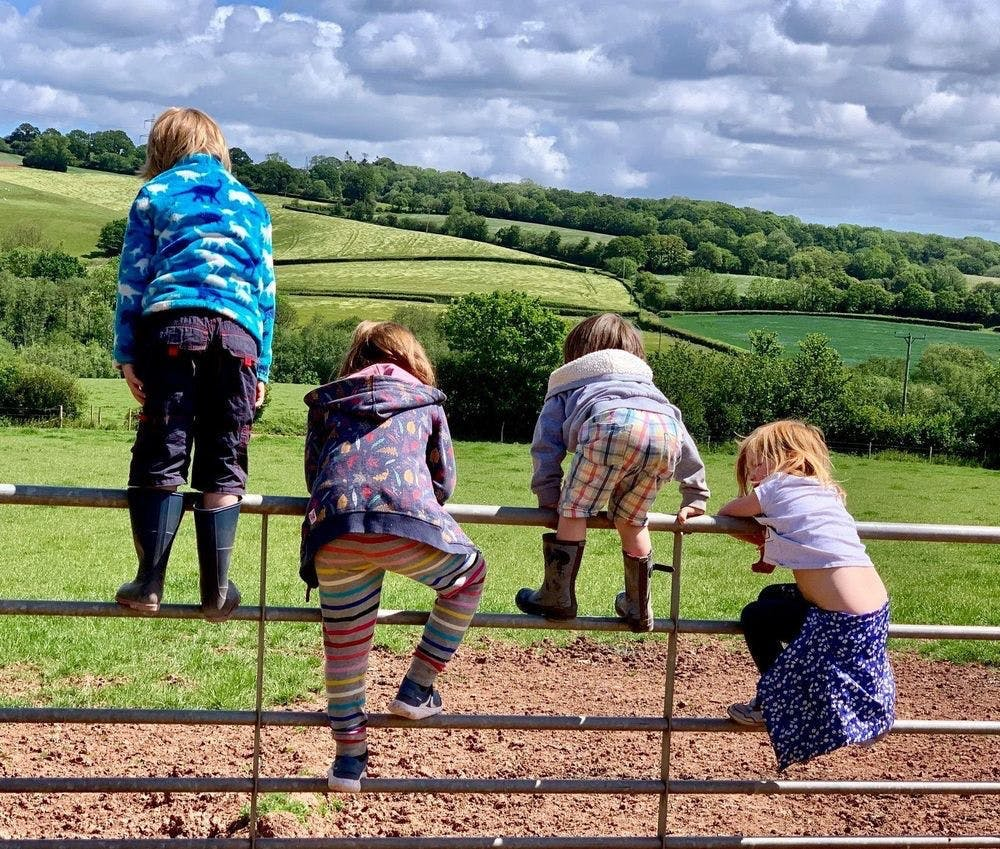 The Cottage Beyond is the perfect countryside playground for children