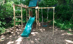 Berry House - Children will love the chunky play equipment