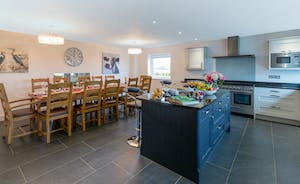 Orchard View - A spacious kitchen diner; room to cook, room to eat