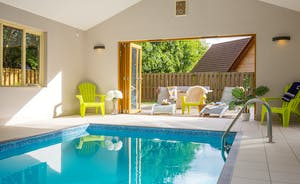 Ramscombe: Bi-fold doors bring the sunshine into the pool room