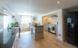 Frog Street: The kitchen is equipped with all you need for your large group holiday
