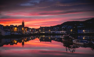Tarbert in the evening light