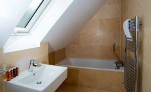 Foxcombe - En suite bathroom for Bedroom 5