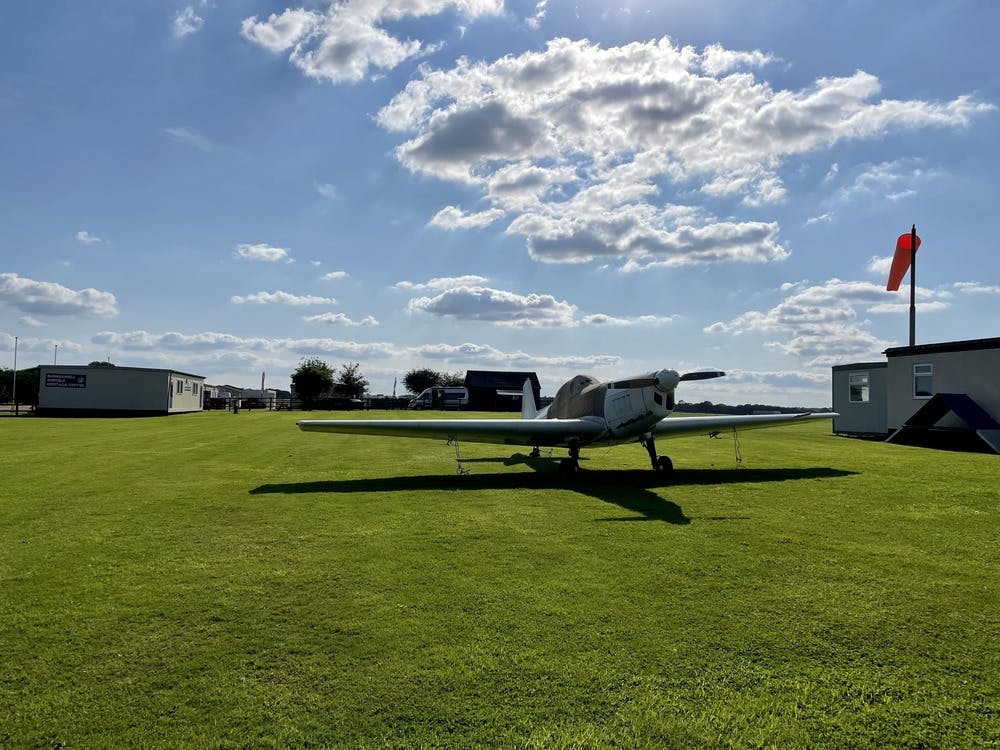 Beautiful day at Dunkeswell Airfield