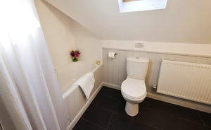 Flossy Brook -  A  fresh, country feel to the shared bathroom for Bedrooms 4 and 5