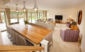 Crowcombe - A spacious light and airy living area