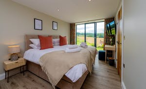 Croftview - Bedroom 8 (Squirrel) is on the first floor and has an en suite shower room