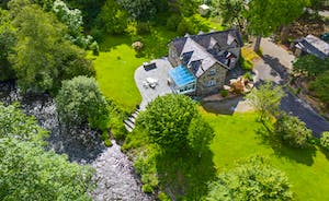 Aerial View of Cottage