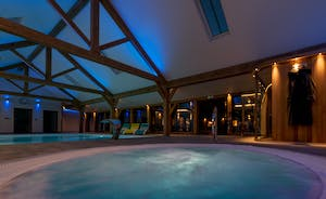 Croftview - A private spa hall with a pool, hot tub and sauna