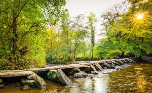 Tarr Steps - Ancient Bridge On Exmoor