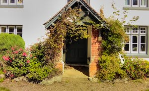 Front door to the farmhouse