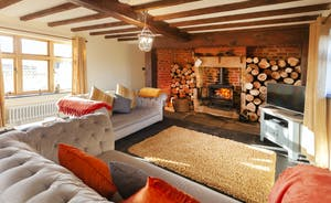 It's just so relaxing at Bumblebee Barn; put your feet up and unwind