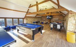 Beaverbrook 30 - Whip up some competitive spirit in the games room