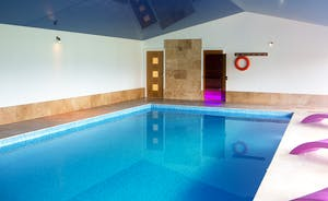 Fuzzy Orchard - The property has its own private indoor heated swimming pool