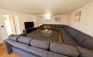Coat Barn - Huge comfy sofas - perfect for gathering together for a movie night
