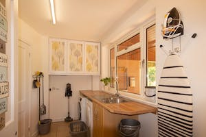 Utility room redecorated