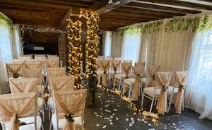 Unique wedding room